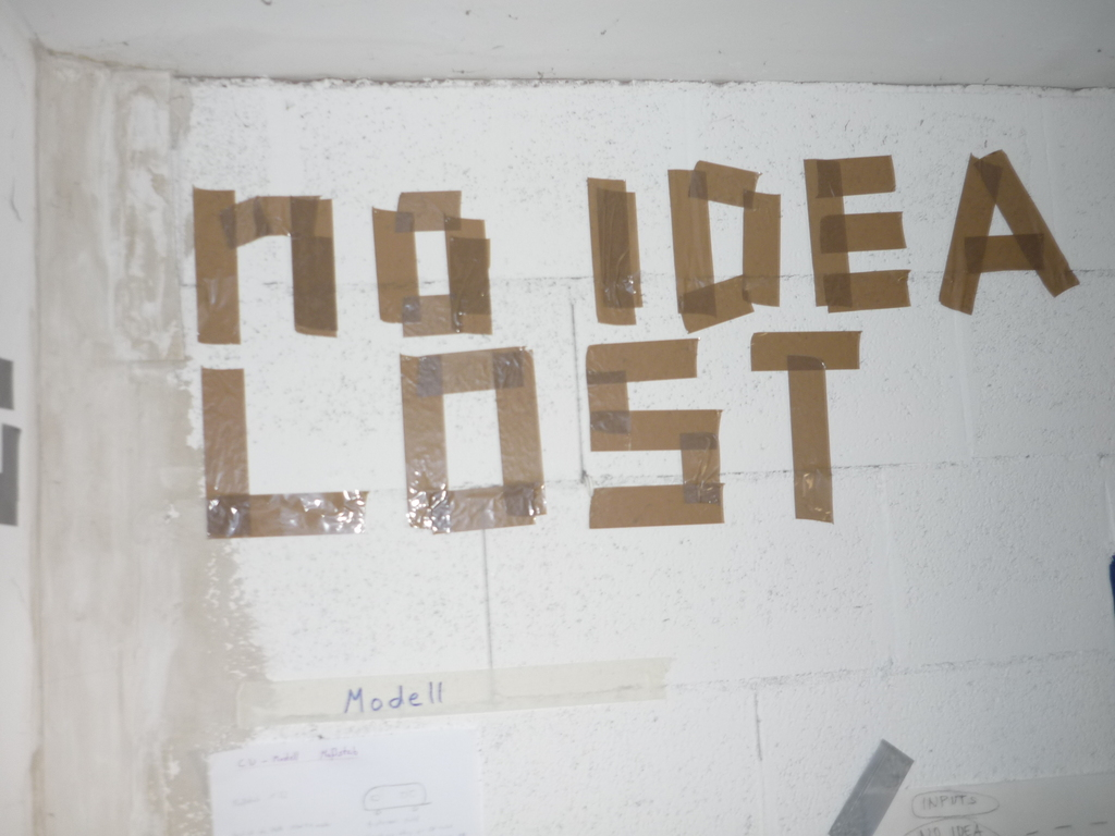 no ideas lost