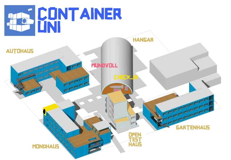 Containeruni Stand Fruehjahr