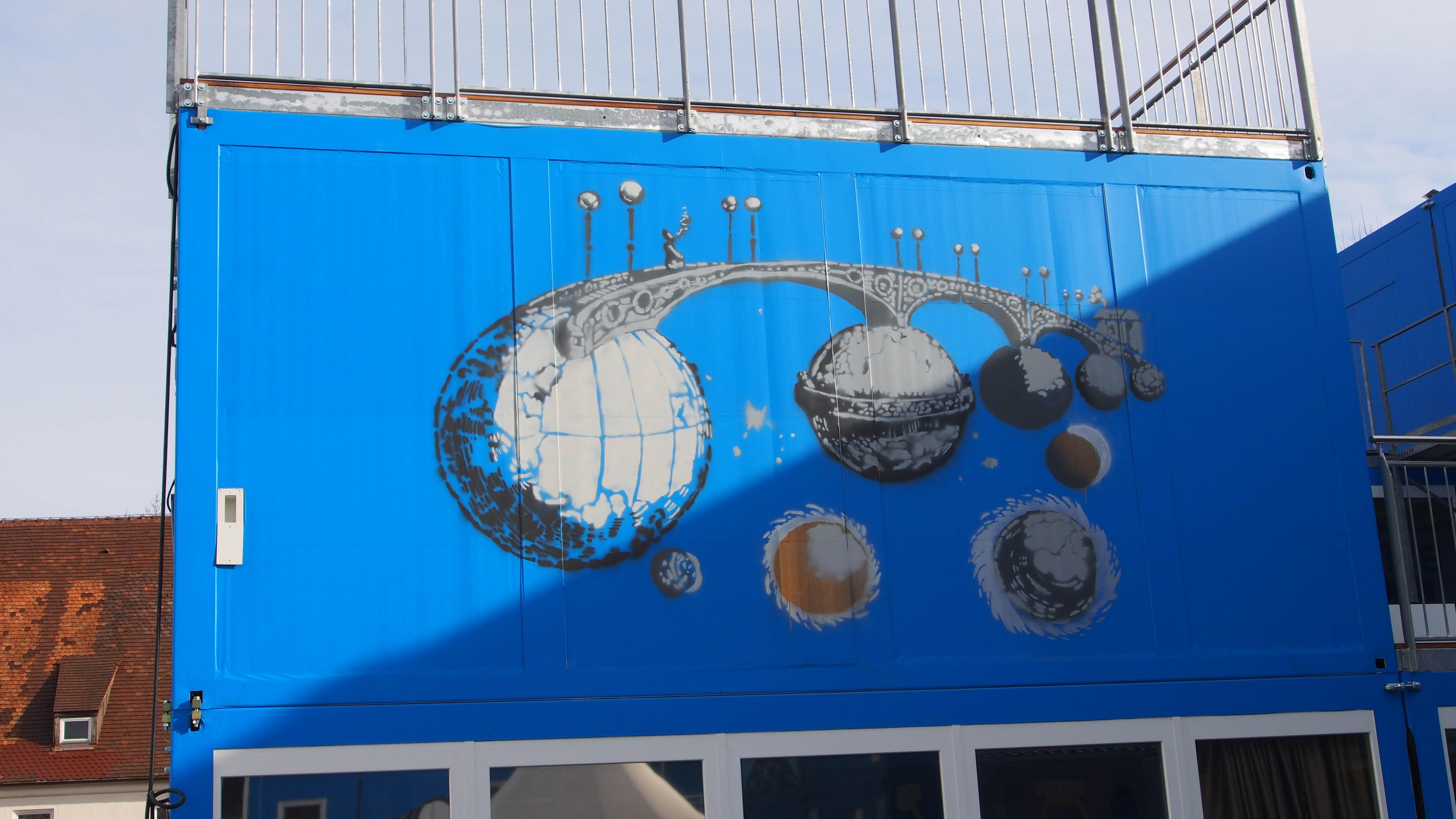 Grandville Eine andere Welt Mondhaus ContainerUni