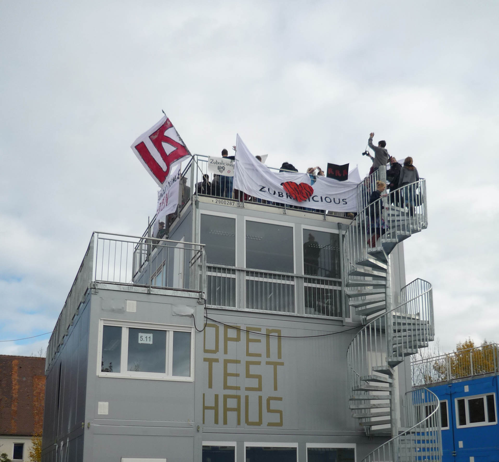 Open test Haus Rooftopparty No One
