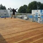 Sascia Roof Jump