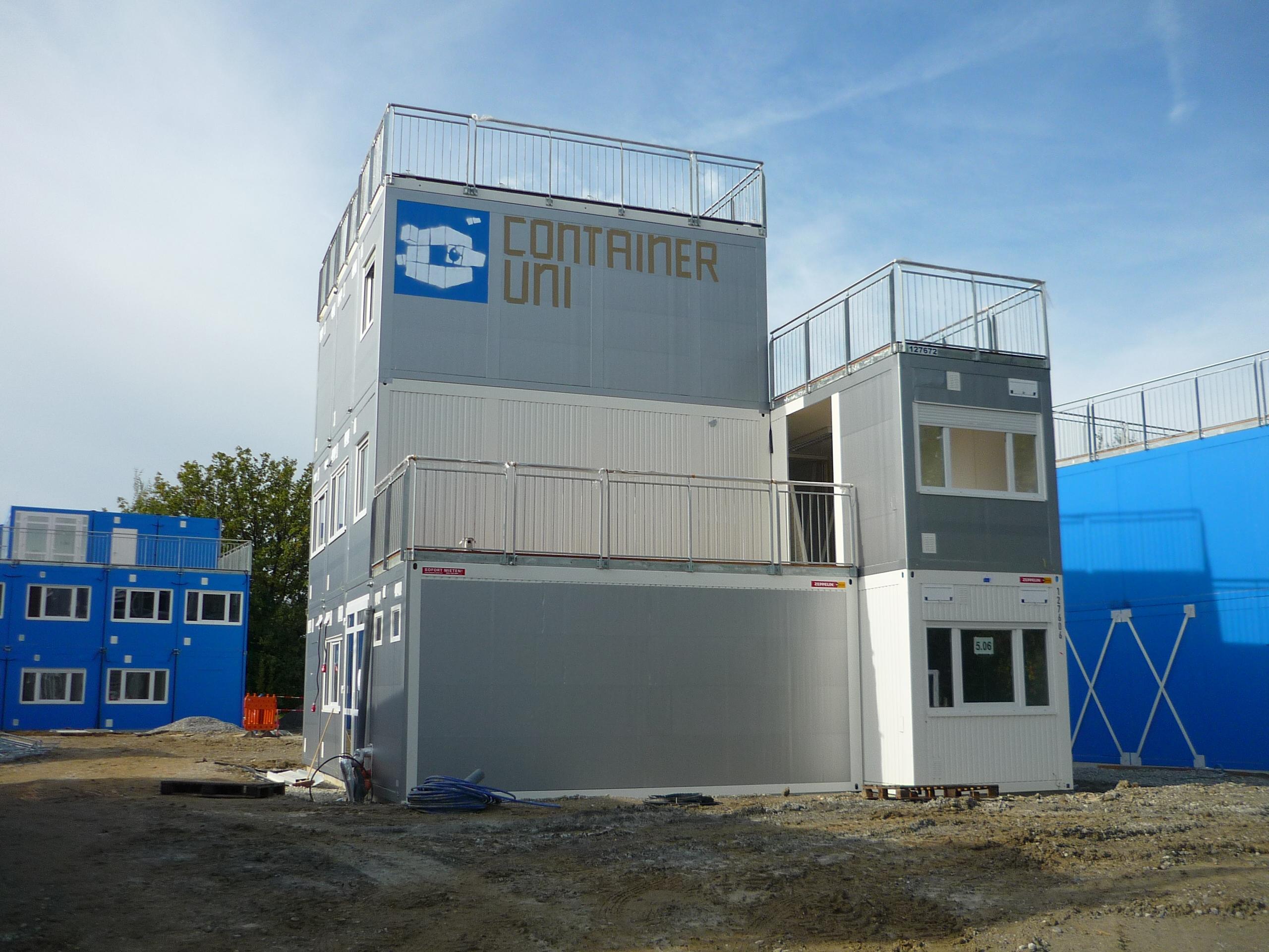 Containeruni 15. Oktober 2012