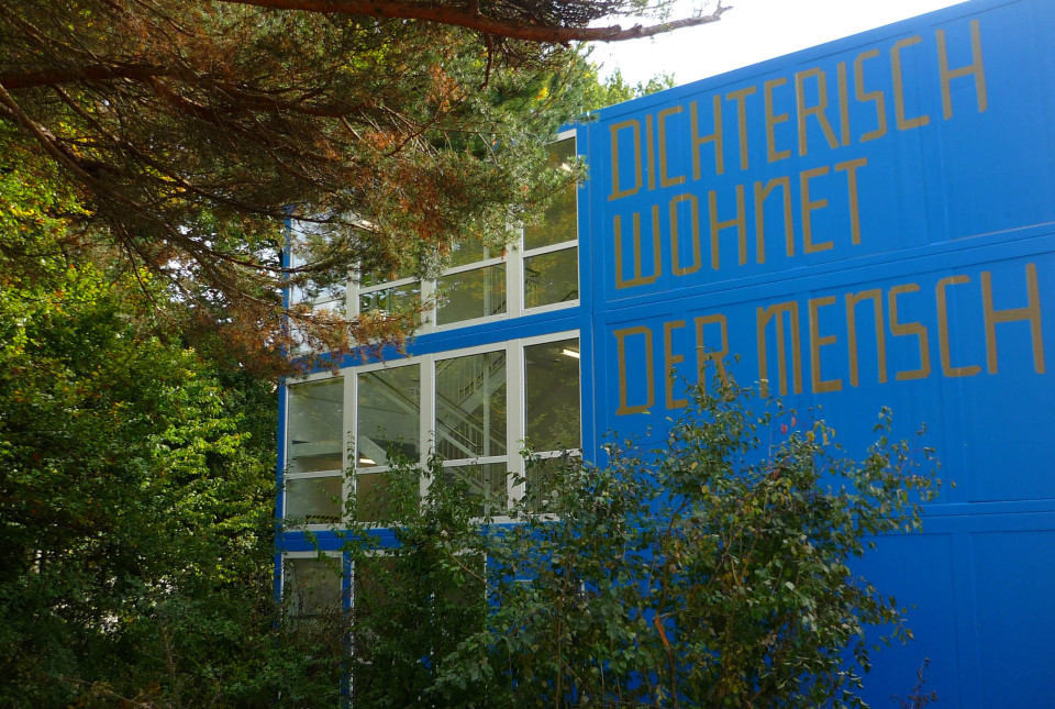 Dichterisch wohnet der Mensch - Gartenhaus